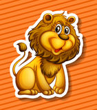 Cute Lion Stock Photography