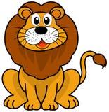 A cute lion sitting Stock Photos