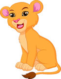 Cute lioness cartoon Stock Photos