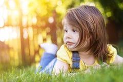 Cute litte girl Stock Images