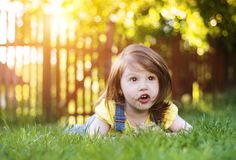 Cute litte girl Royalty Free Stock Image