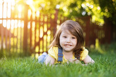 Cute litte girl Stock Photo