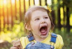 Cute litte girl Stock Image