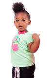 Cute little african american girl Stock Photos