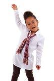 Cute little African Asian girl Stock Photo