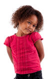 Cute little African girl Stock Image