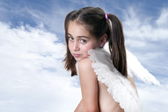 Cute little Angel Stock Photo