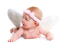 Cute little angel Royalty Free Stock Images