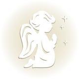 Cute little angel. Stock Image
