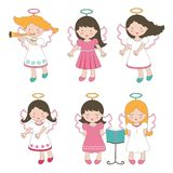 Cute little angels Royalty Free Stock Photo