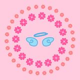 Cute little Angels,  illustration Royalty Free Stock Images
