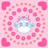 Cute little Angels, vector illustration Royalty Free Stock Image