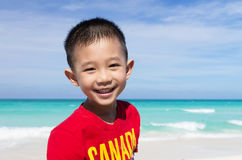 Cute little Asian boy Royalty Free Stock Image