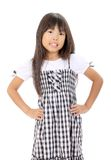 Cute little asian girl Royalty Free Stock Image