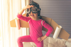 Cute little astronaut Royalty Free Stock Images