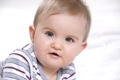 Cute little baby Royalty Free Stock Photography