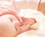 Free Cute Little Baby Royalty Free Stock Image - 43308446