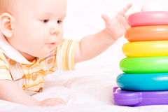 Cute little baby royalty free stock photos