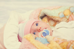 A cute little baby Royalty Free Stock Photo