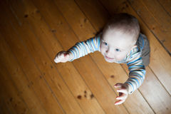 Cute little baby boy Stock Photos