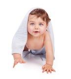 Cute little baby boy Stock Photos