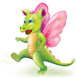 Cute little baby dragon Royalty Free Stock Photography