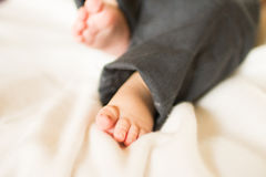 Cute little baby feet Royalty Free Stock Photo