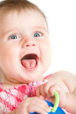 Cute little baby girl Stock Photos