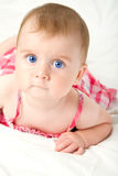 Cute little baby girl Stock Photo