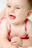 Cute little baby girl. Portrait Royalty Free Stock Images