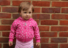 Cute little baby girl Stock Images