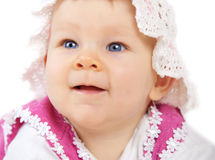 Cute little baby Stock Images