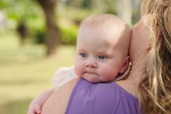 Cute little baby Royalty Free Stock Image