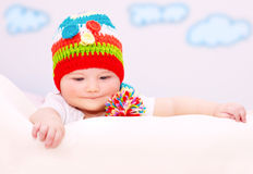 Cute little baby Stock Photography