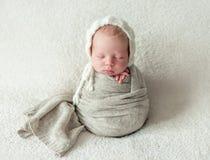 Cute little baby sweetly sleeping