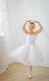 Cute little ballerina posing Stock Image