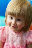 Cute little blond Royalty Free Stock Photos