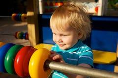 Cute little boy Stock Images