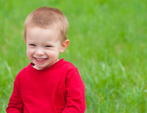 Cute little boy with beautiful smile Royalty Free Stock Photos