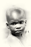 Cute little boy from Ghana Stock Images