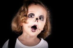 Cute little boy on Halloween Royalty Free Stock Photos