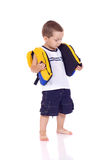 Cute little sporty boy Royalty Free Stock Photo