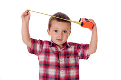 Little worker Royalty Free Stock Photography