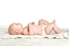 Cute little boy Stock Images