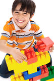 Cute little boy play Stock Photography