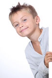 Cute little boy portrait Royalty Free Stock Photography