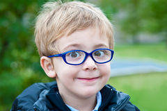 Cute Little Boy Portrait Royalty Free Stock Photo