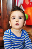 Cute little boy portrait Royalty Free Stock Image