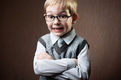 Cute little boy portrait Stock Image