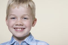 Cute Little Boy Smiling Stock Photography